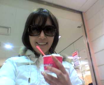 今日の悠里とアイスクリーム