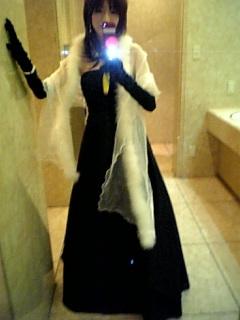 黒いドレス☆
