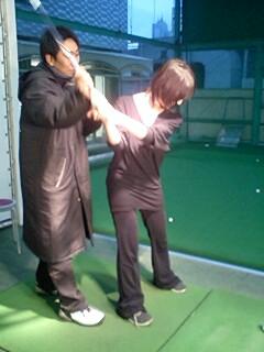 プロゴルファー悠里