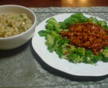 本日の手作り晩ご飯