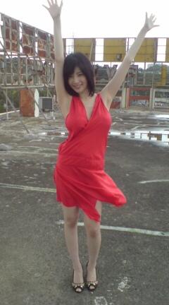 真っ赤なドレスが好き