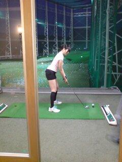 ゴルフ頑張る♪