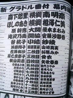 悠里が横綱☆明日イベントだね☆彡