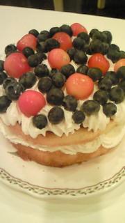 すっぴんと手作りケーキ