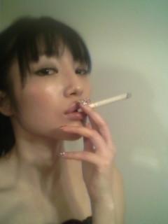 煙草吸う練習