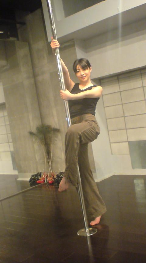 撮影→→ポールダンス