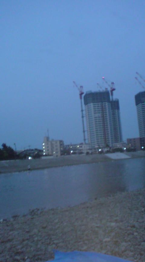 バーベキュー→汐留