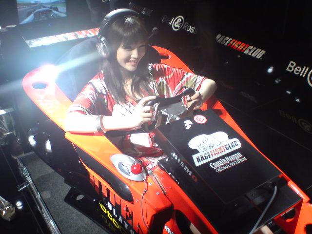 F1ドライバー体験☆