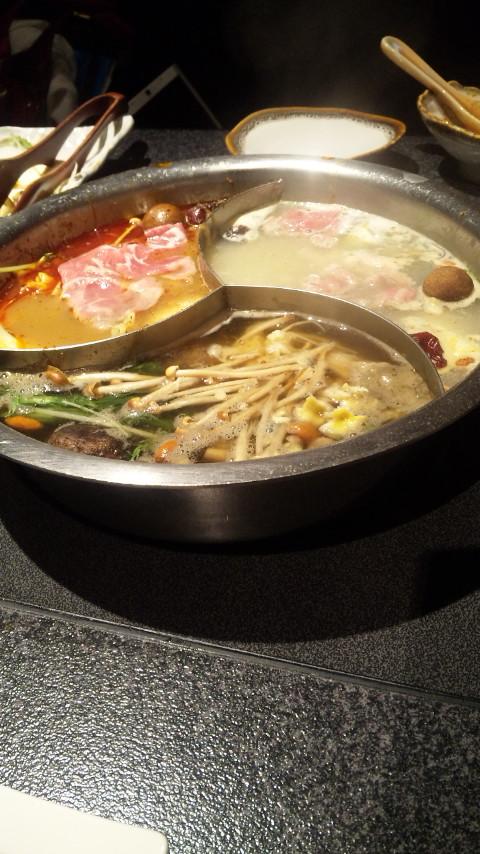 ☆彡モンゴル鍋中☆彡