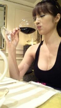 ワインとシャンパン♪