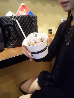 アイスクリームとダイエット
