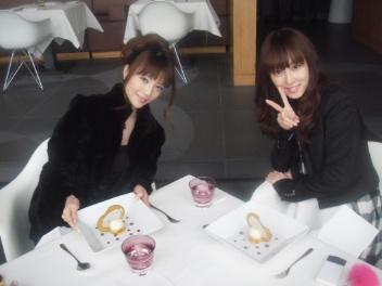 秋山莉奈ちゃんとランチ♪