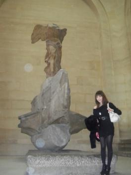 パリ二日目♪ルーブル美術館♪