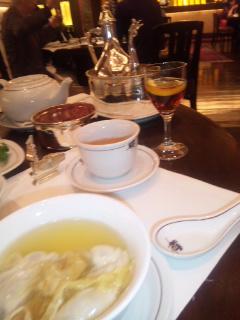 香港二日目☆ペニンシュラで飲茶♪