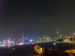 香港四日目の夜