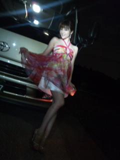 夜の撮影現場と悠里の課題①