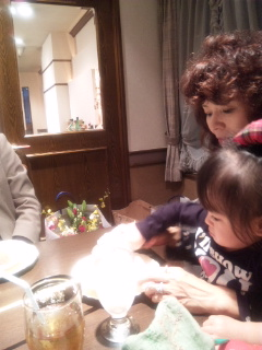 my★mama's<br />  ★Birthday party yesterday