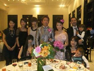 友達の結婚式がありました