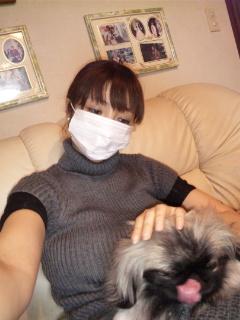 風邪ひいちゃったぁ