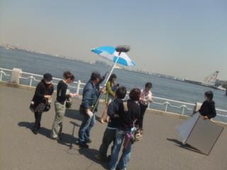 横浜でドラマ撮影