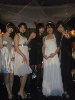結婚式〜♪