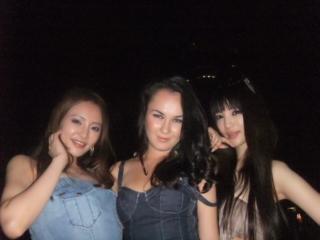withクリスティン&amp;<br />  タイアナ