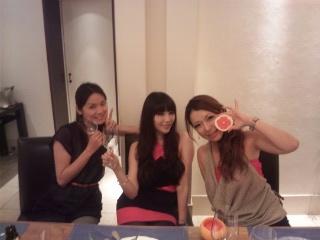 女子lunch<br />  女子dinner