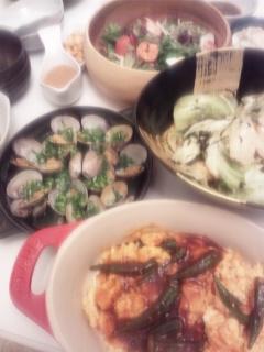 昨夜の手作り晩御飯