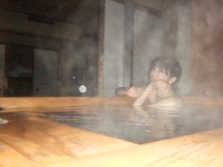 露天風呂大好き♪