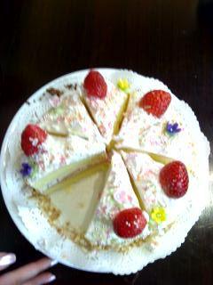 どう?悠里のケーキ