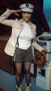 キャプテン気分♪